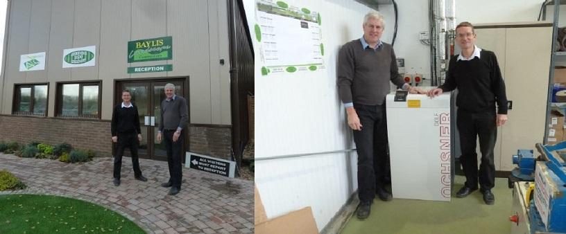 Air Source Heat Pump installation for Baylis Landscape Contractors