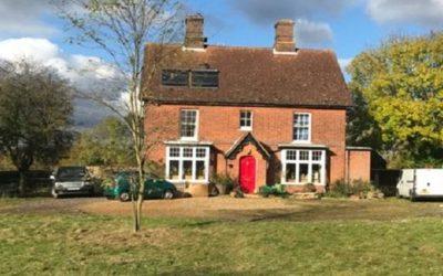 Heat pump for farmhouse in Essex